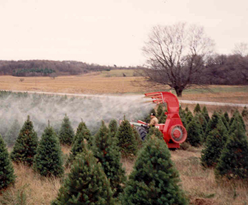 Christmas Tree Sprayer.Gvf Roto Spray